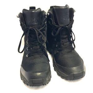 The North Face Waterproof Snow Boots Men's 7 Black